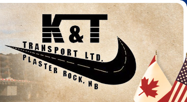 K&T Transport Ltd., Plaster Rock, NB